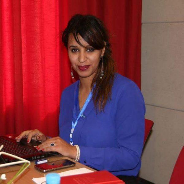Présidente JCI Casablanca : Asmae Farah