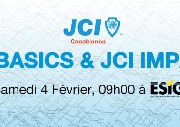 Formations JCI Basics & JCI Impact
