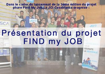 Présentation du projet FIND my JOB – 3ème édition