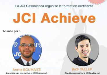 Formation Certifiante JCI Achieve