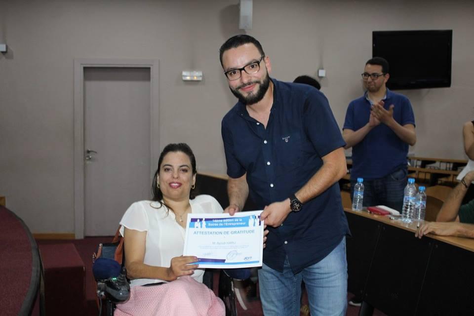 Youssef Benkirane + sara maalal