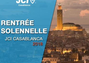 Rentrée Solennelle JCI Casablanca 2018