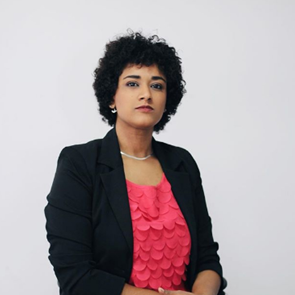 Vice-Présidente Croissance et Développement:  Maria MOUNDO